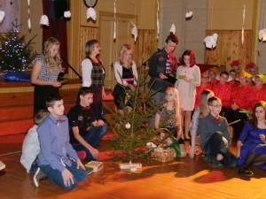 Ziemassvētkus Vācijā savā priekšnesumā piedzīvo 7.c klases skolēni